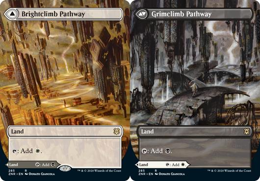 Brightclimb Pathway // Grimclimb Pathway - Foil - Borderless