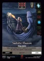 Sadistic Illusion E15
