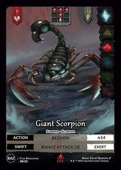 Giant Scorpion E9