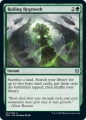 Roiling Regrowth - Foil