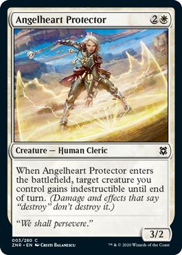 Angelheart Protector - Foil