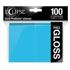 Ultra Pro - Standard Deck Protectors: Eclipse Pro-Gloss Sky Blue 100 ct