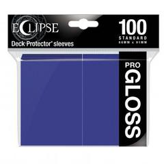 Ultra Pro - Standard Deck Protectors: Eclipse Pro-Gloss Royal Purple 100 ct