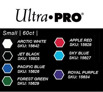 Ultra Pro - Small Deck Protectors: Eclipse Pro-Gloss Royal Purple 60 ct