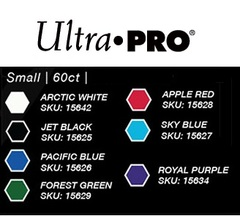 Ultra Pro - Small Deck Protectors: Eclipse Pro-Gloss Apple Red 60 ct