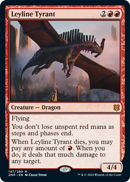 Leyline Tyrant - Foil