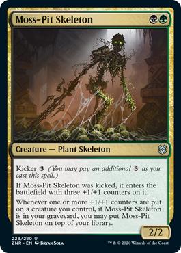 Moss-Pit Skeleton - Foil
