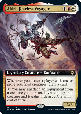 Akiri, Fearless Voyager - Extended Art