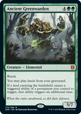 Ancient Greenwarden - Foil