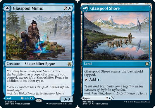Glasspool Mimic // Glasspool Shore - Foil
