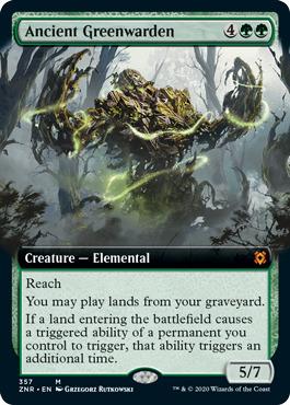 Ancient Greenwarden - Foil - Extended Art