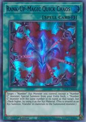 Rank-Up-Magic Quick Chaos (Blue) - DLCS-EN044 - Ultra Rare - 1st Edition