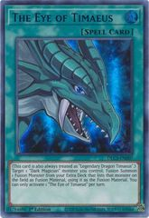 The Eye of Timaeus (Blue) - DLCS-EN007 - Ultra Rare - 1st Edition