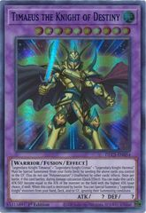 Timaeus the Knight of Destiny (Blue) - DLCS-EN054 - Ultra Rare - 1st Edition