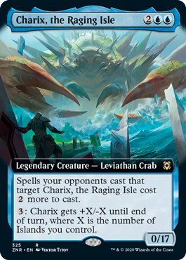 Charix, the Raging Isle - Extended Art