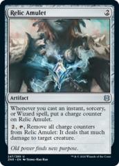 Relic Amulet - Foil