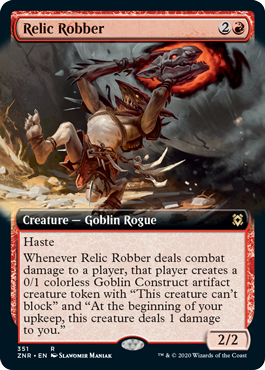Relic Robber - Extended Art