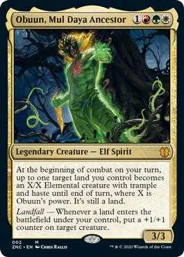 Obuun, Mul Daya Ancestor - Foil