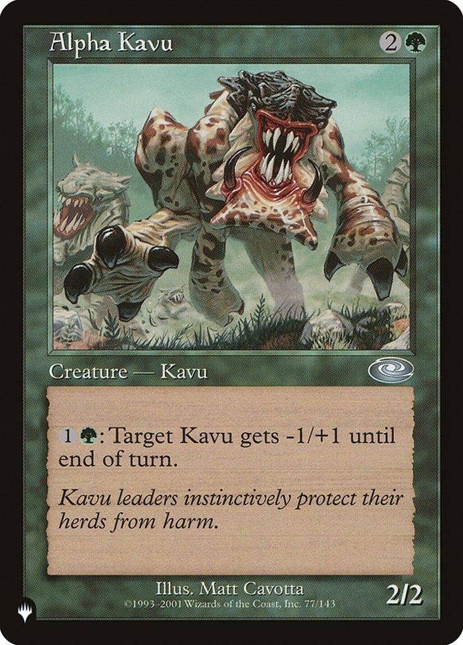 Alpha Kavu - The List