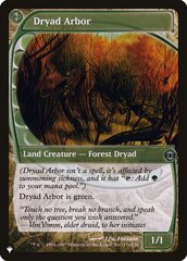 Dryad Arbor - The List