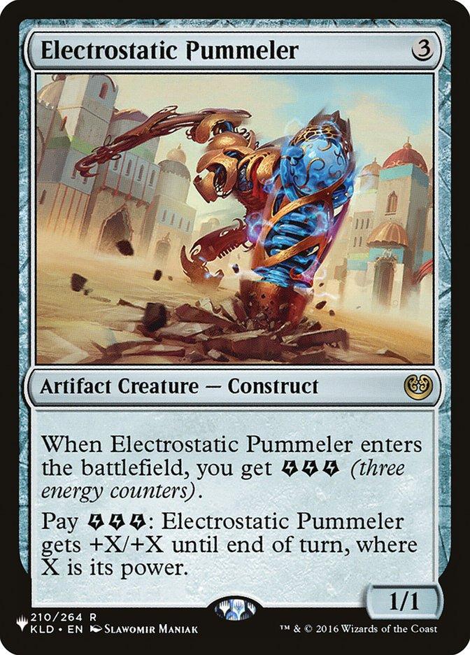 Electrostatic Pummeler - The List