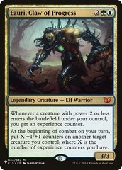 Ezuri, Claw of Progress - The List