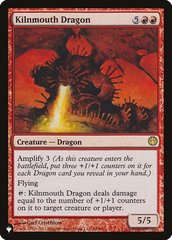 Kilnmouth Dragon - The List