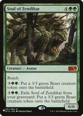 Soul of Zendikar - The List