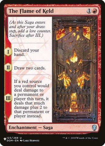 The Flame of Keld - The List