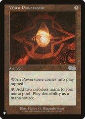 Worn Powerstone - The List