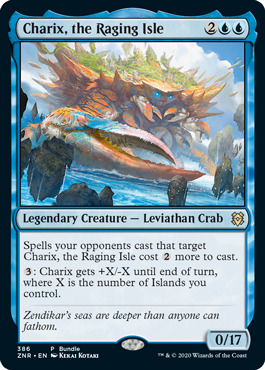 Charix, the Raging Isle - Foil Bundle Promo