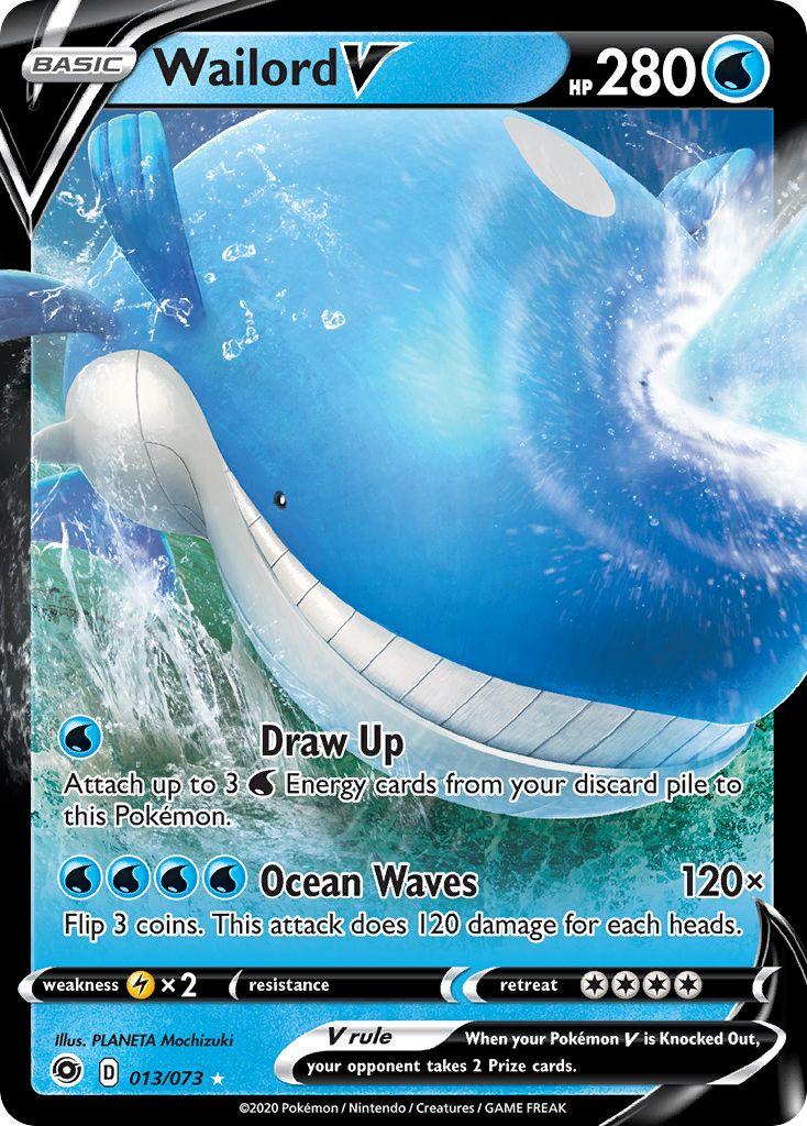 Wailord V - 013/073 - Ultra Rare