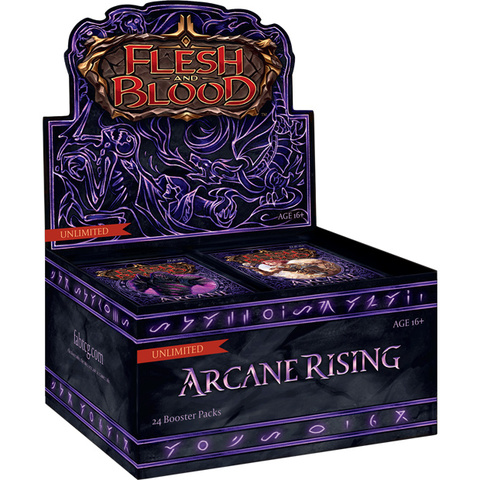Arcane Rising Booster Box Unlimited Edition