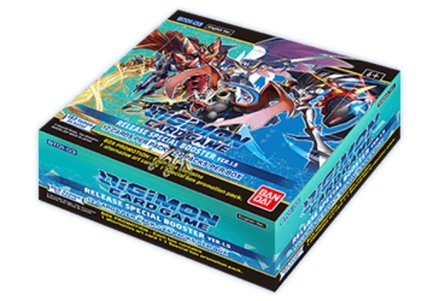 Digimon Card Game: Release Special Booster Box Version 1.5