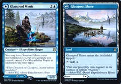 Glasspool Mimic // Glasspool Shore - Foil - Prerelease Promo