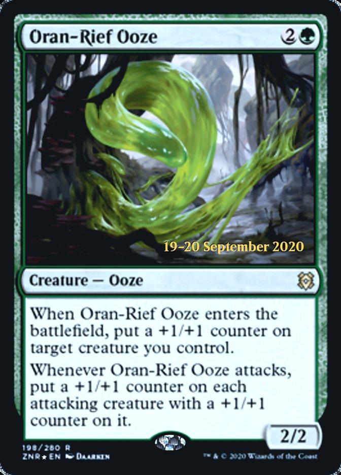 Oran-Rief Ooze - Foil - Prerelease Promo