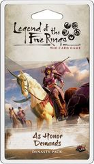 Legend of the Five Rings: As Honor Demands Dynasty Pack