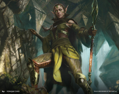 Nissa of Shadowed Boughs 1 Art Card