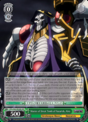 Master of Great Tomb of Nazarick, Ainz - OVL/S62-E026S - SR