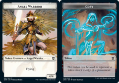 Angel Warrior Token // Copy Token - Foil