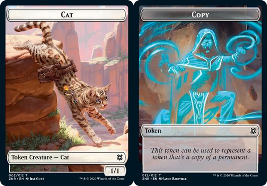 Cat Token // Copy Token - Foil