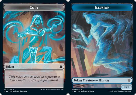 Copy Token // Illusion Token - Foil
