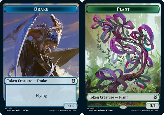Drake Token // Plant Token - Foil