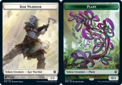 Kor Warrior Token // Plant Token - Foil