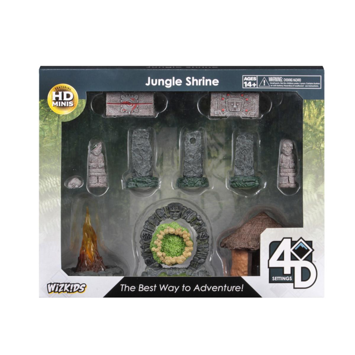 4D Settings: Jungle Shrine