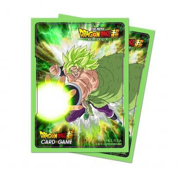 Ultra Pro - Dragon Ball Super: Standard Size Deck Protector 65Ct - Broly