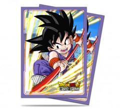 Ultra Pro - Dragon Ball Super: Standard Size Deck Protector 65Ct - Explosive Spirit Son Goku