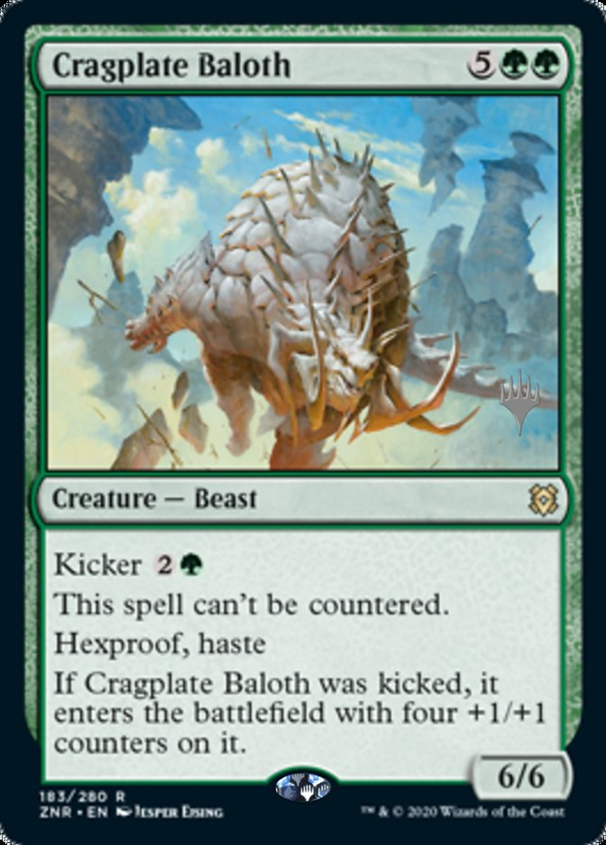 Cragplate Baloth - Foil - Promo Pack