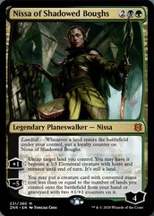 Nissa of Shadowed Boughs - Foil - Promo Pack