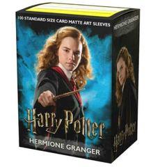 Dragon Shield: Hermione Granger - Art, Matte Card Sleeves (100ct)